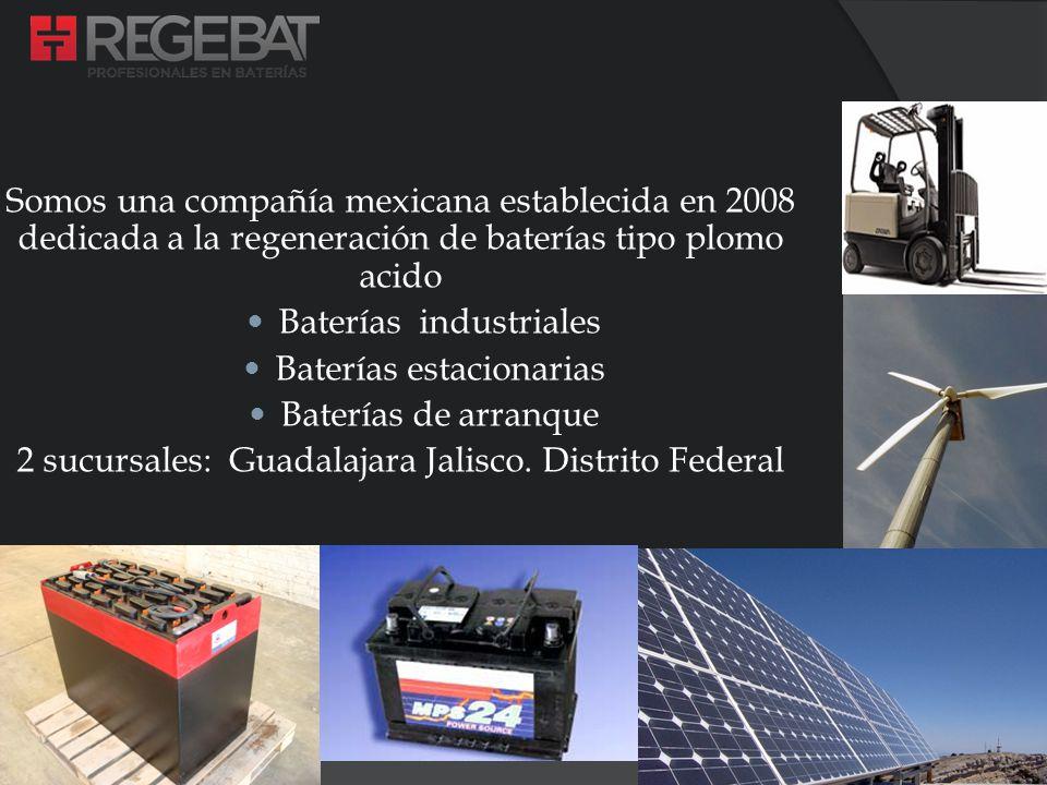 Baterías industriales Baterías estacionarias Baterías de arranque