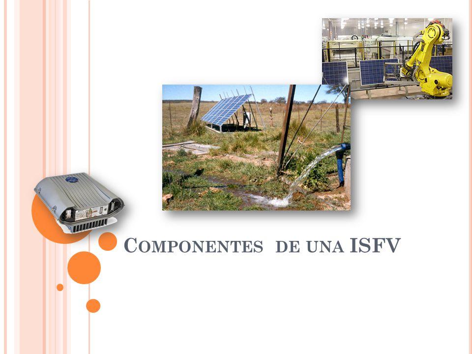 Componentes de una ISFV