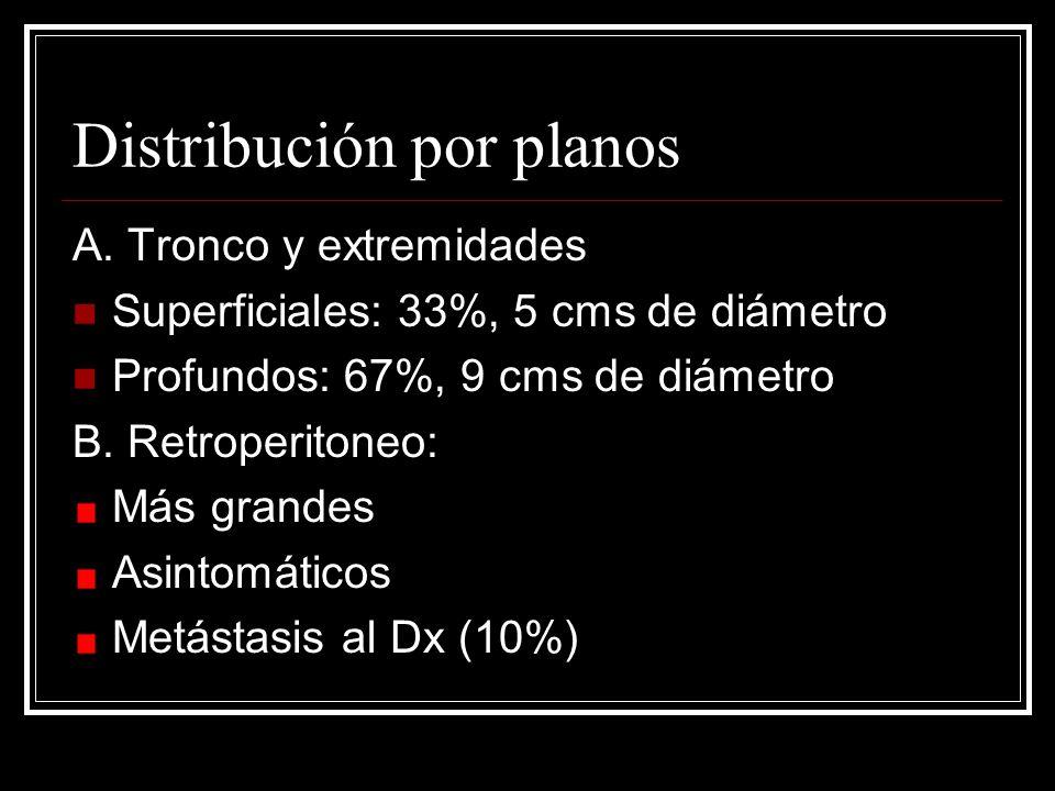 Distribución por planos