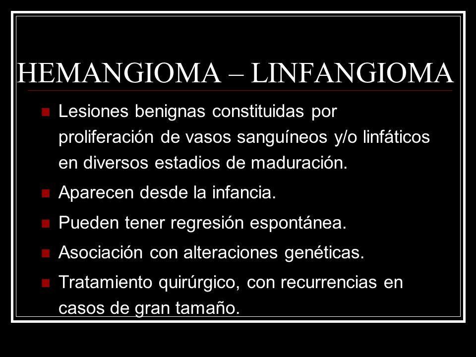 HEMANGIOMA – LINFANGIOMA