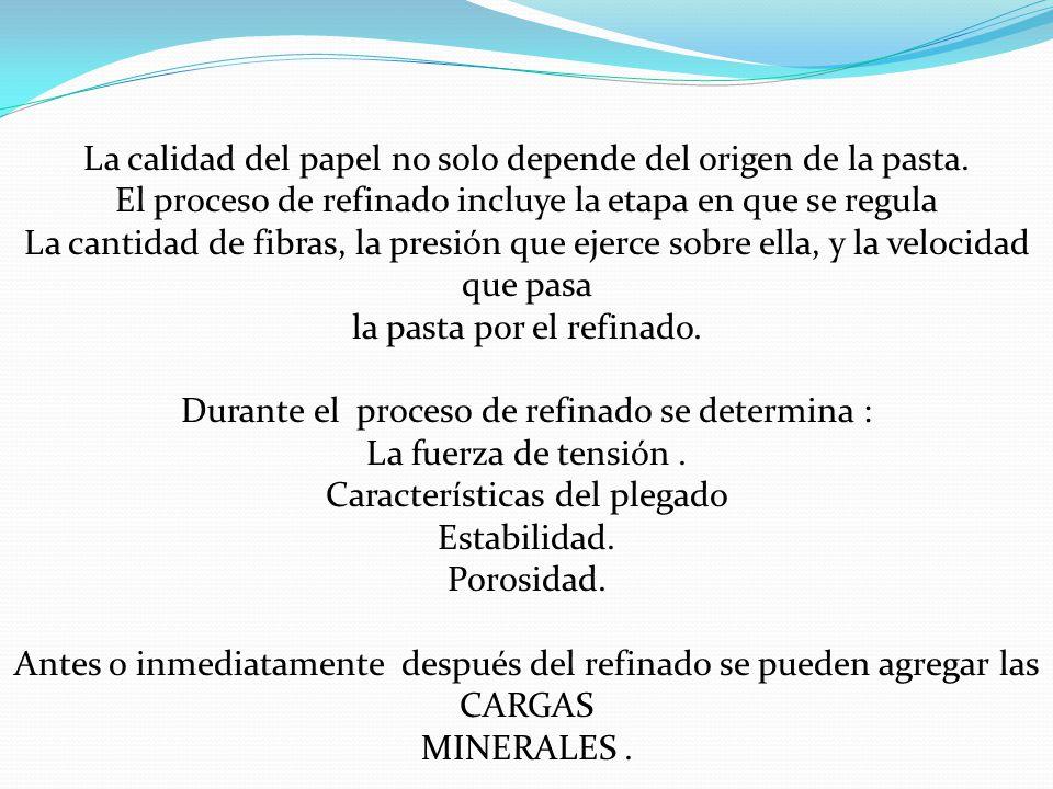 La calidad del papel no solo depende del origen de la pasta.