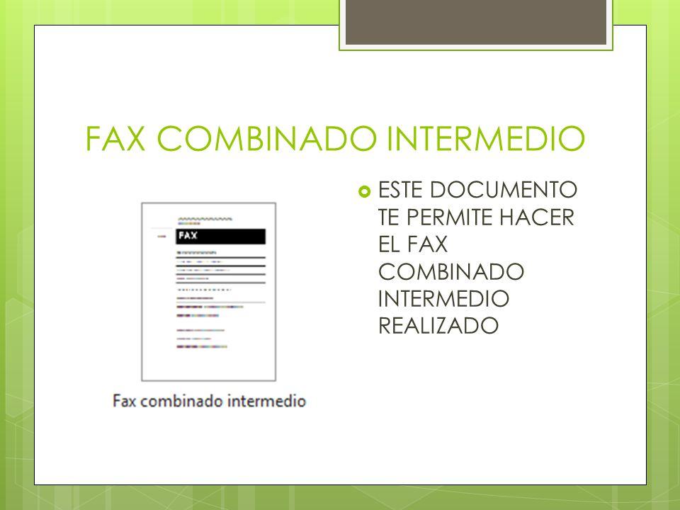 FAX COMBINADO INTERMEDIO