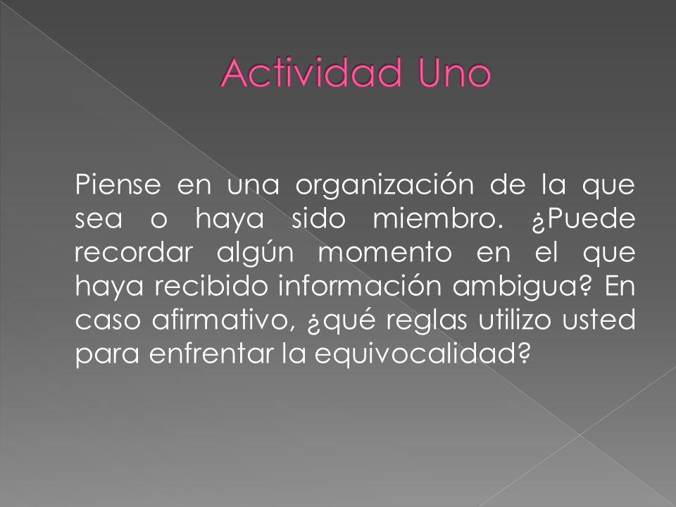 Actividad Uno