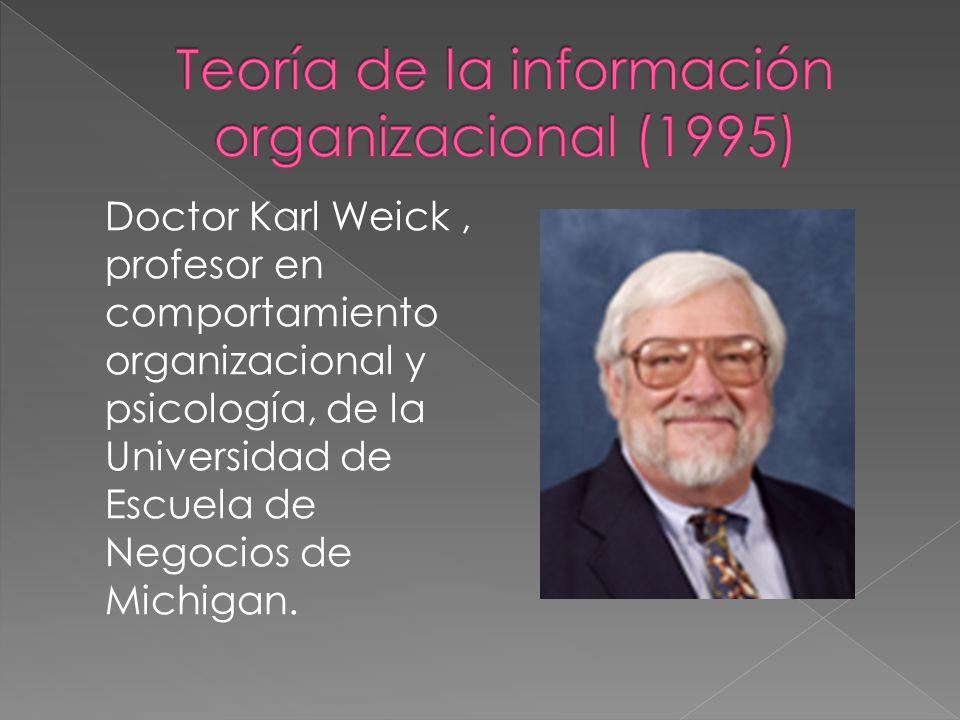 Teoría de la información organizacional (1995)