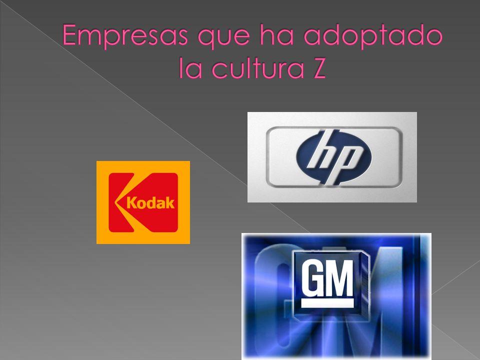 Empresas que ha adoptado la cultura Z