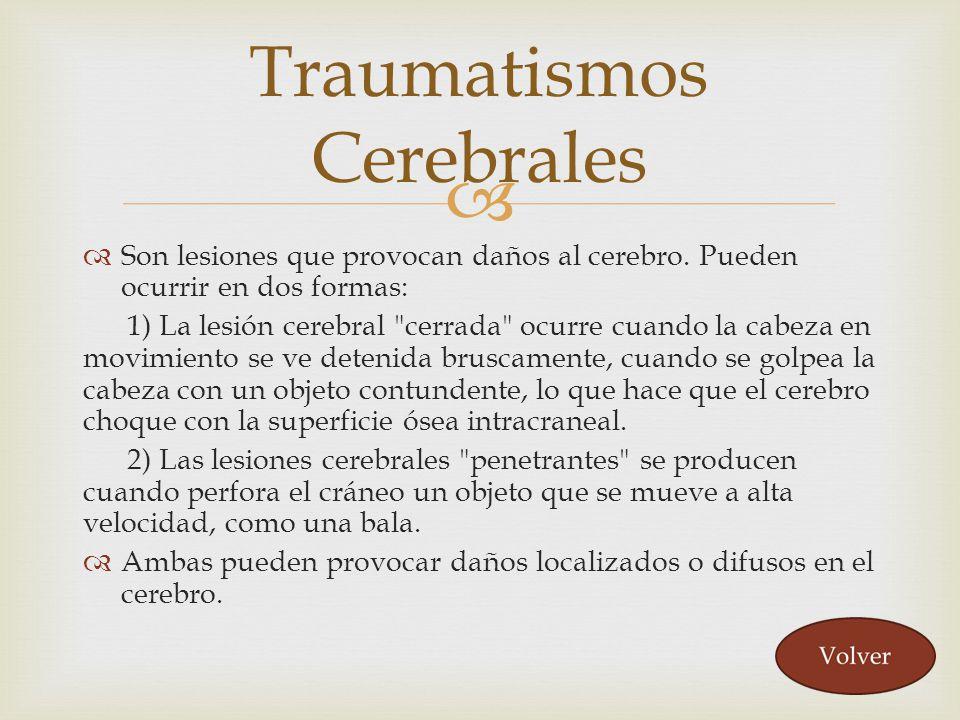 Traumatismos Cerebrales