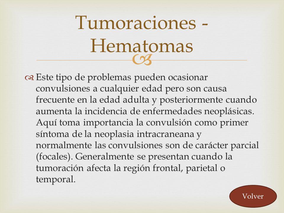 Tumoraciones - Hematomas