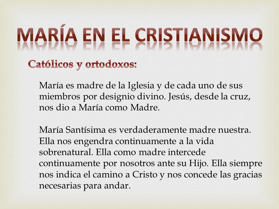 María en el cristianismo Católicos y ortodoxos: