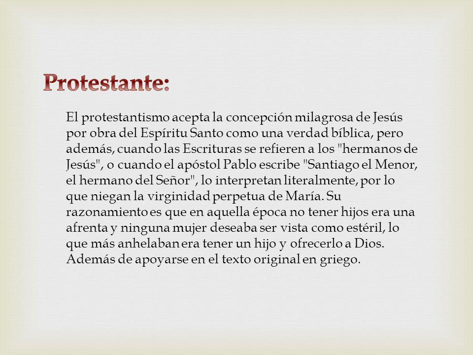 Protestante: