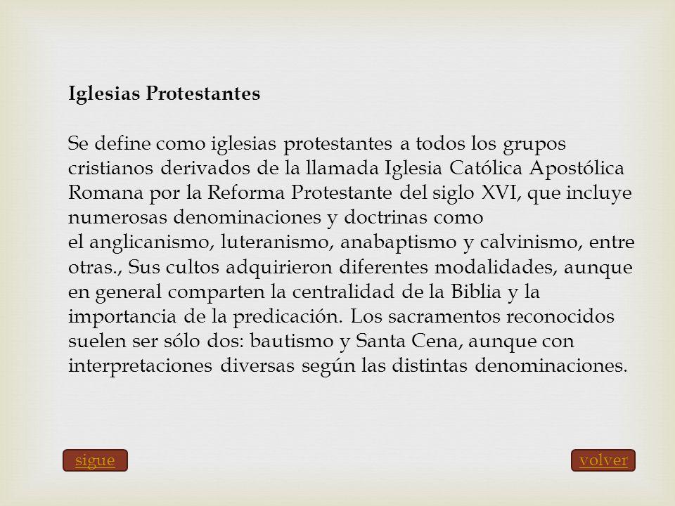 Iglesias Protestantes