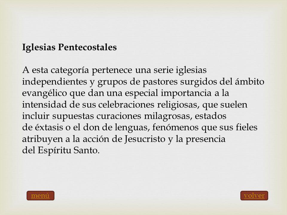 Iglesias Pentecostales