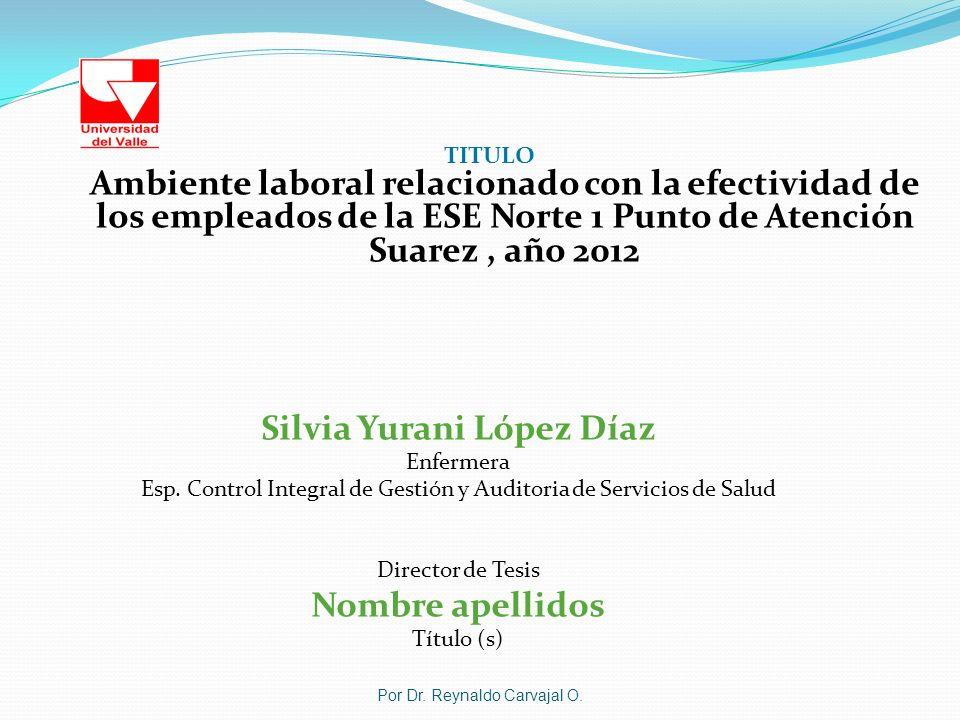 Silvia Yurani López Díaz