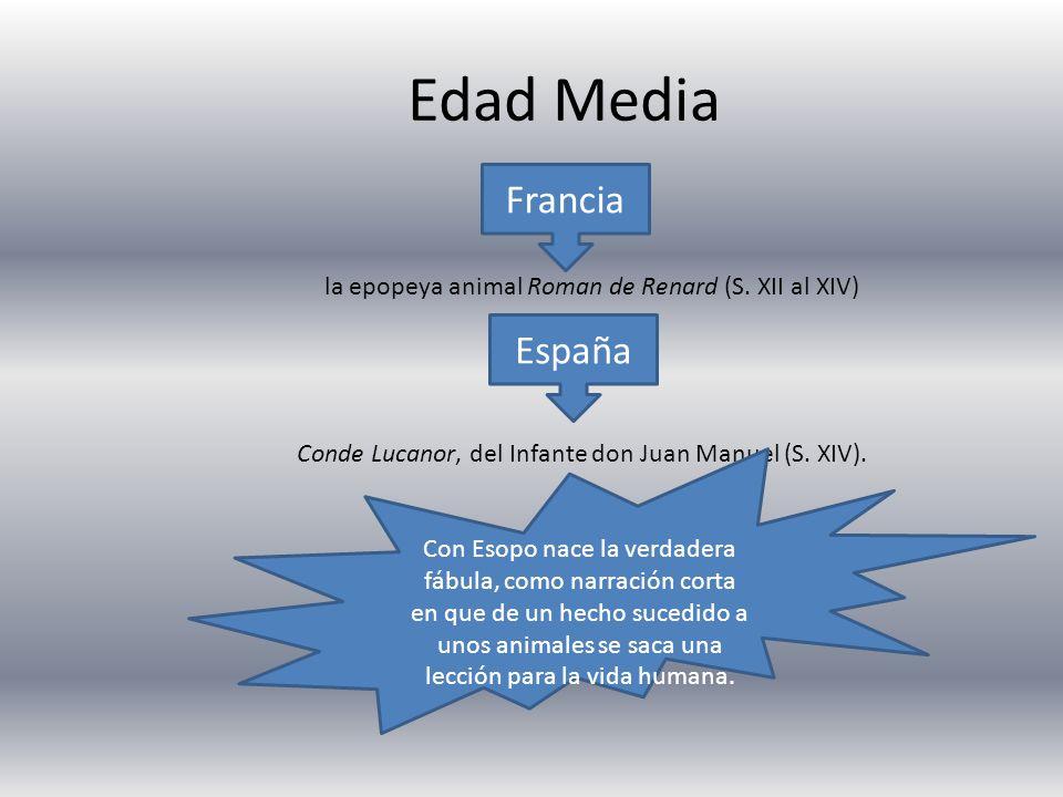 Edad Media Francia España