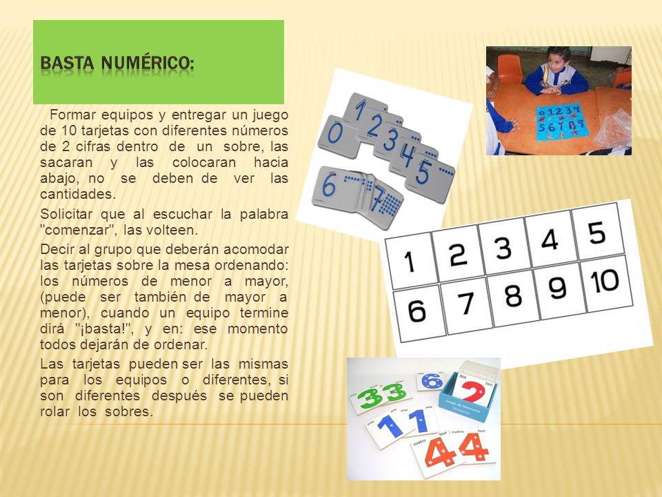 Basta numérico: