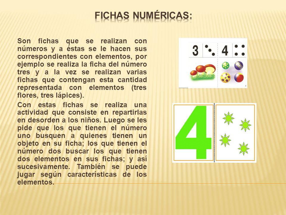 Fichas Numéricas: