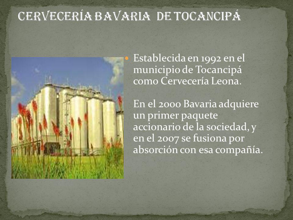 Cervecería BAVARIA de Tocancipá