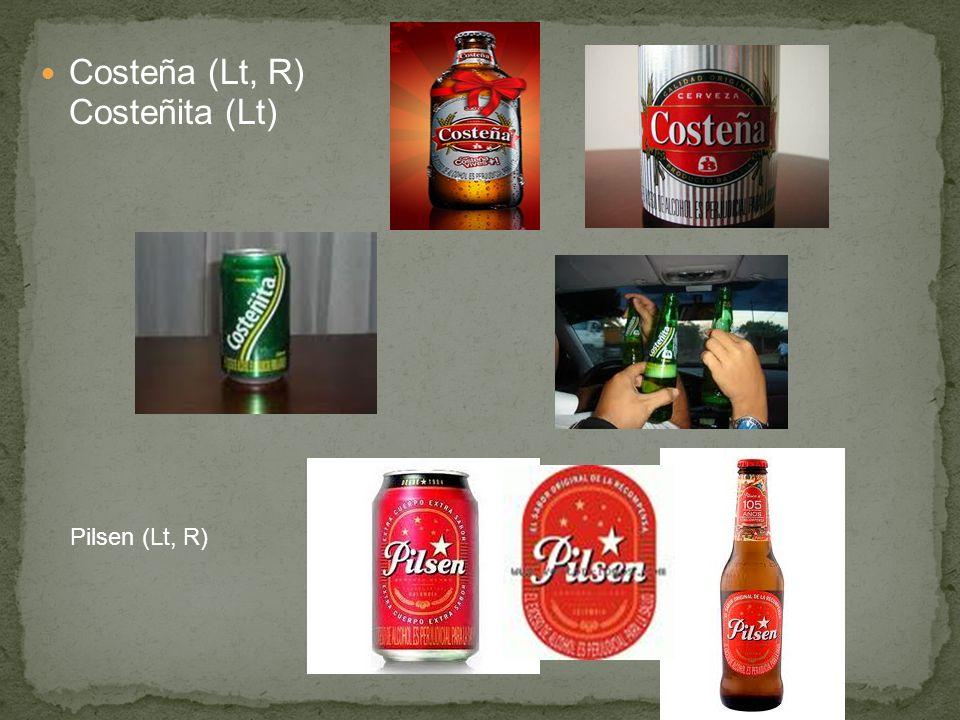 Costeña (Lt, R) Costeñita (Lt)