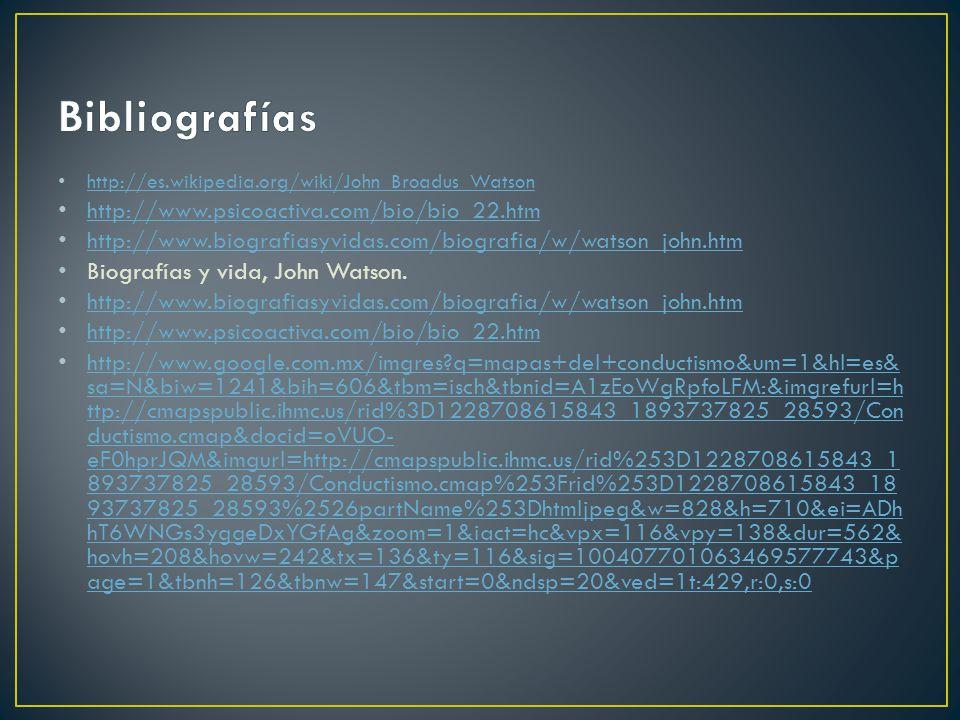 Bibliografías http://www.psicoactiva.com/bio/bio_22.htm