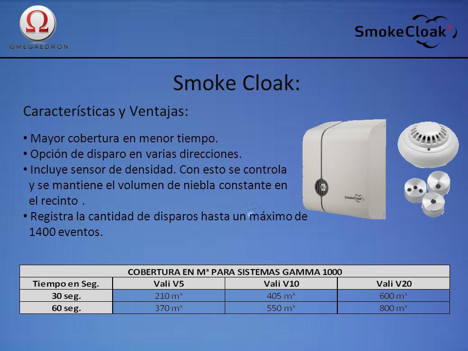 Smoke Cloak: Características y Ventajas: