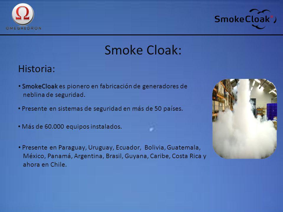 Smoke Cloak: Historia: