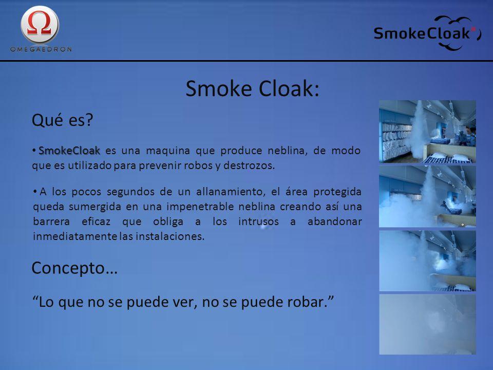 Smoke Cloak: Qué es Concepto…