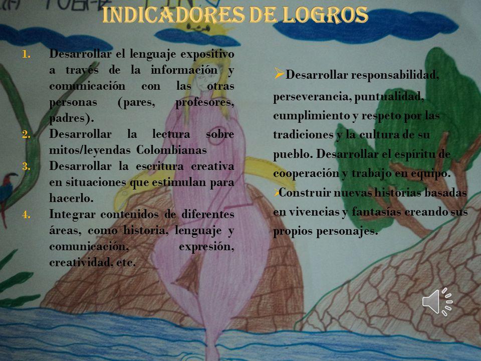 INDICADORES DE LOGROS