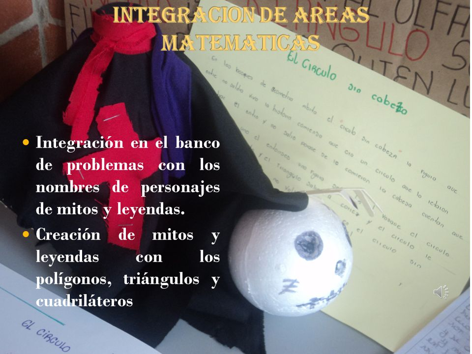 INTEGRACION DE AREAS MATEMATICAS