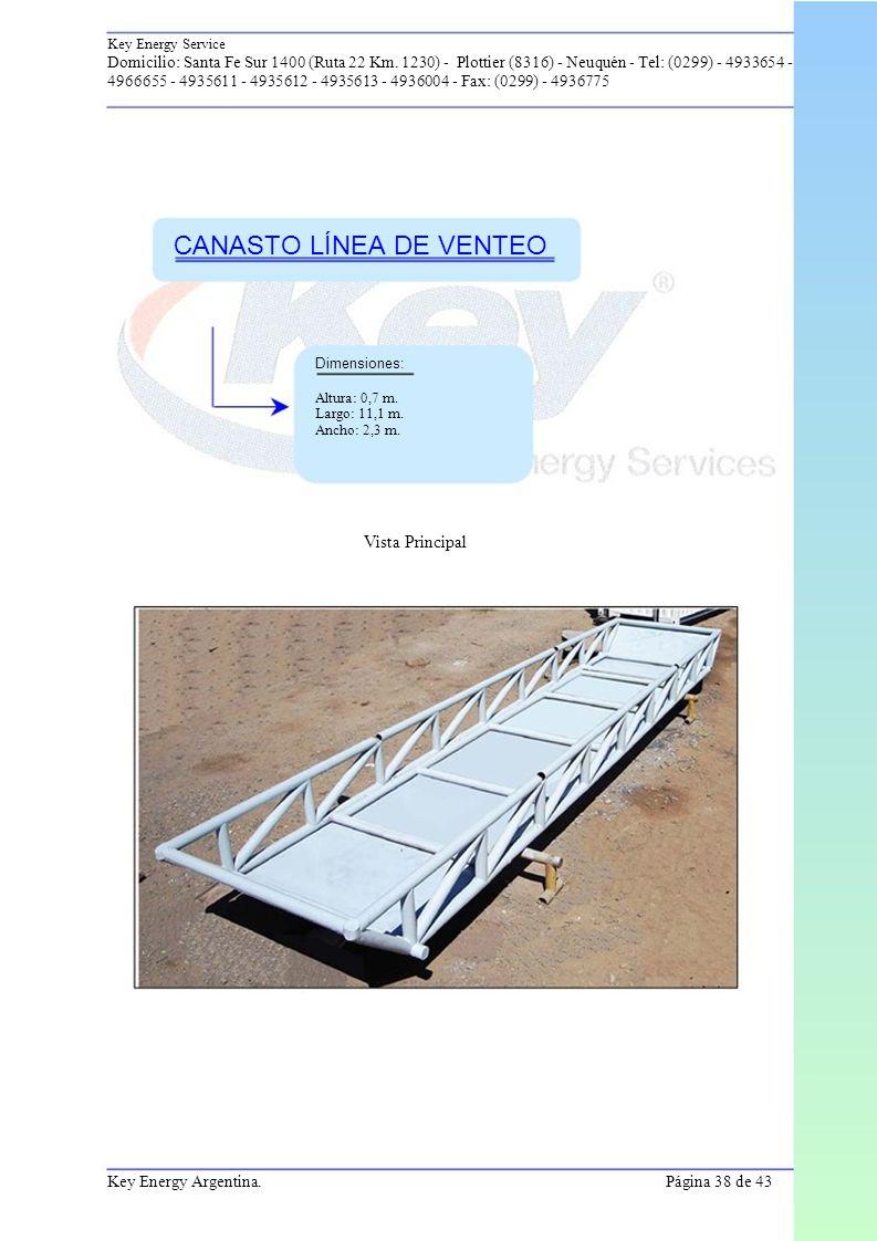 CANASTO LÍNEA DE VENTEO