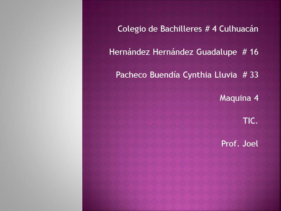 Colegio de Bachilleres # 4 Culhuacán