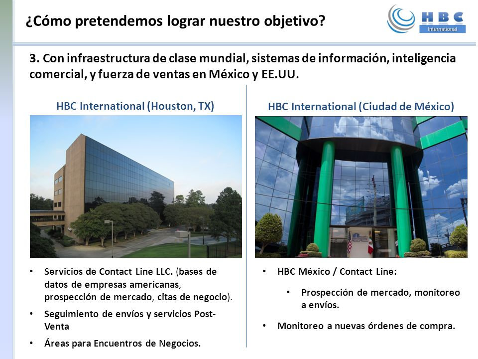 HBC International (Houston, TX) HBC International (Ciudad de México)
