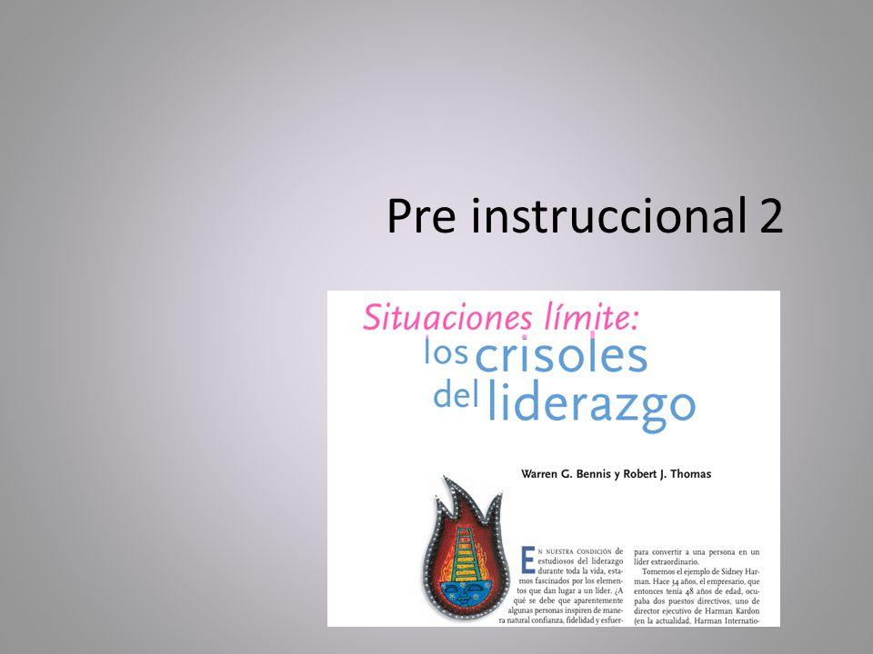 Pre instruccional 2