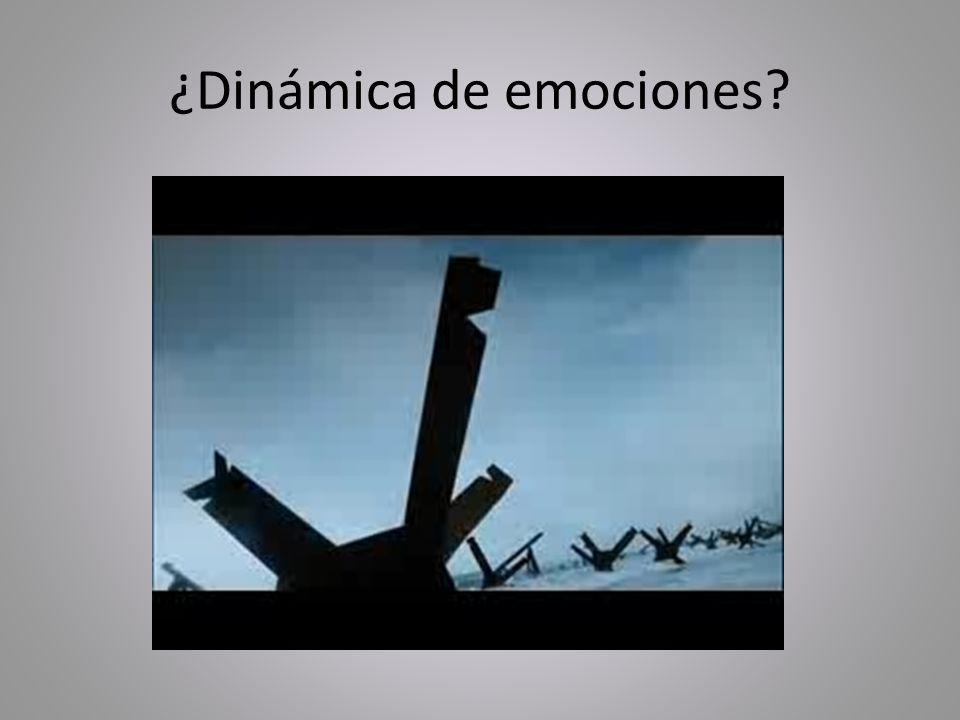 ¿Dinámica de emociones