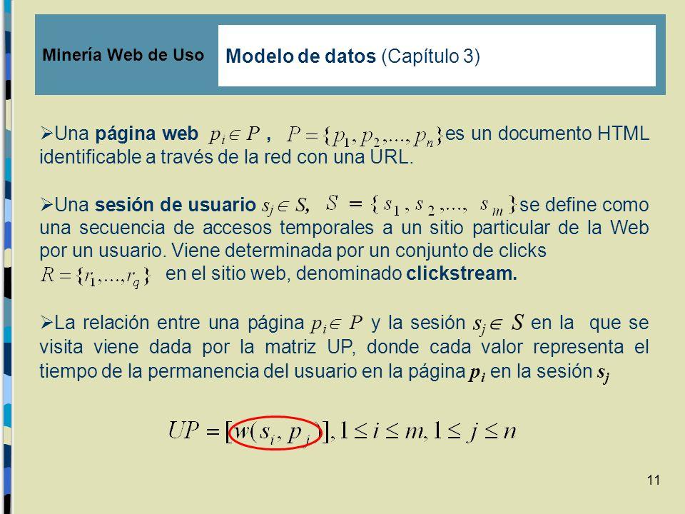 Modelo de datos (Capítulo 3)