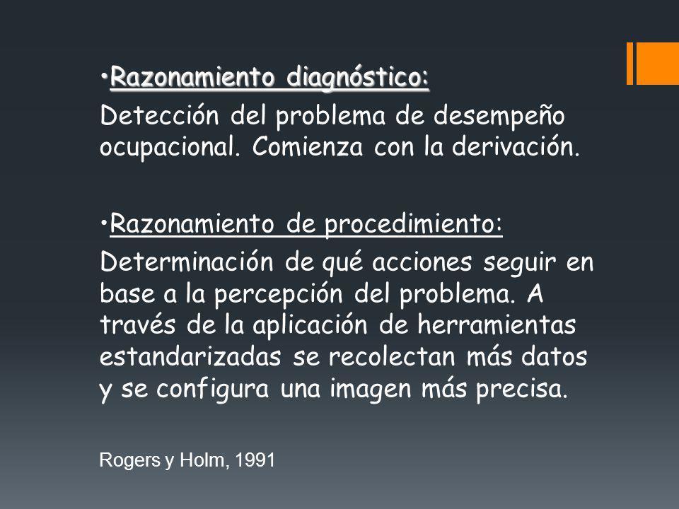 Razonamiento diagnóstico: