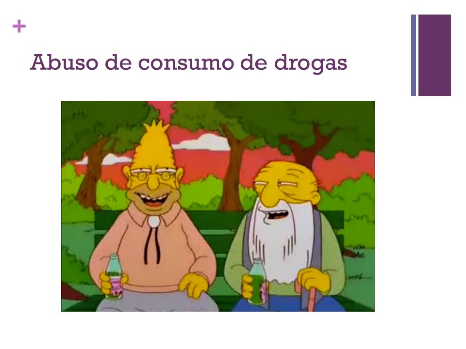 Abuso de consumo de drogas