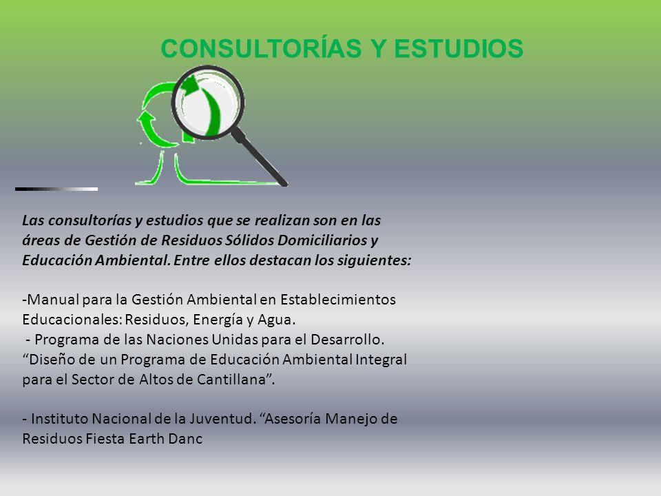 CONSULTORÍAS Y ESTUDIOS