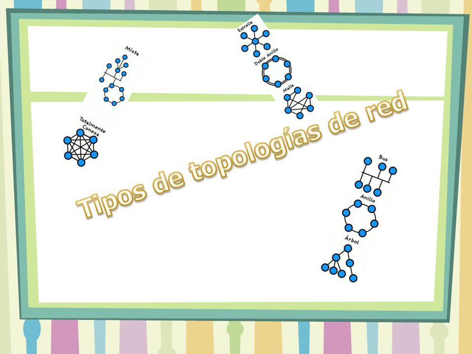 Tipos de topologías de red