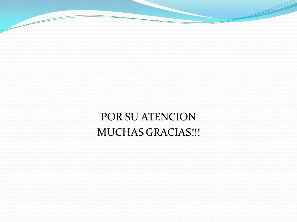POR SU ATENCION MUCHAS GRACIAS!!!
