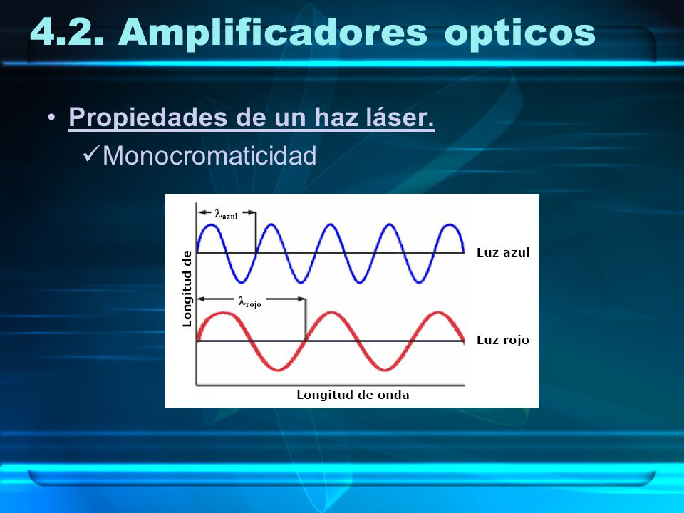 4.2. Amplificadores opticos
