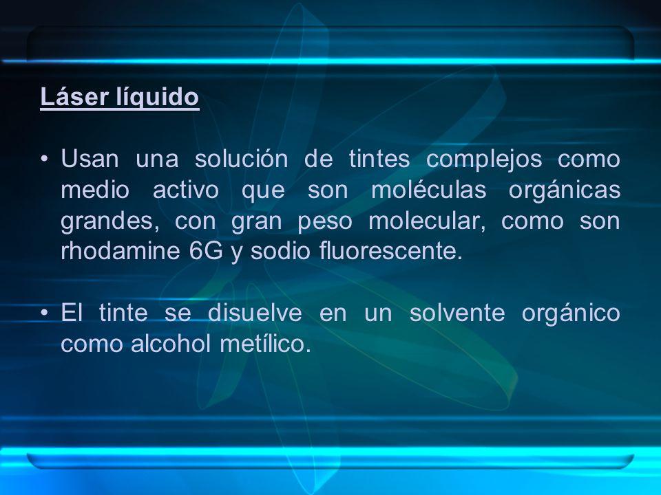 Láser líquido