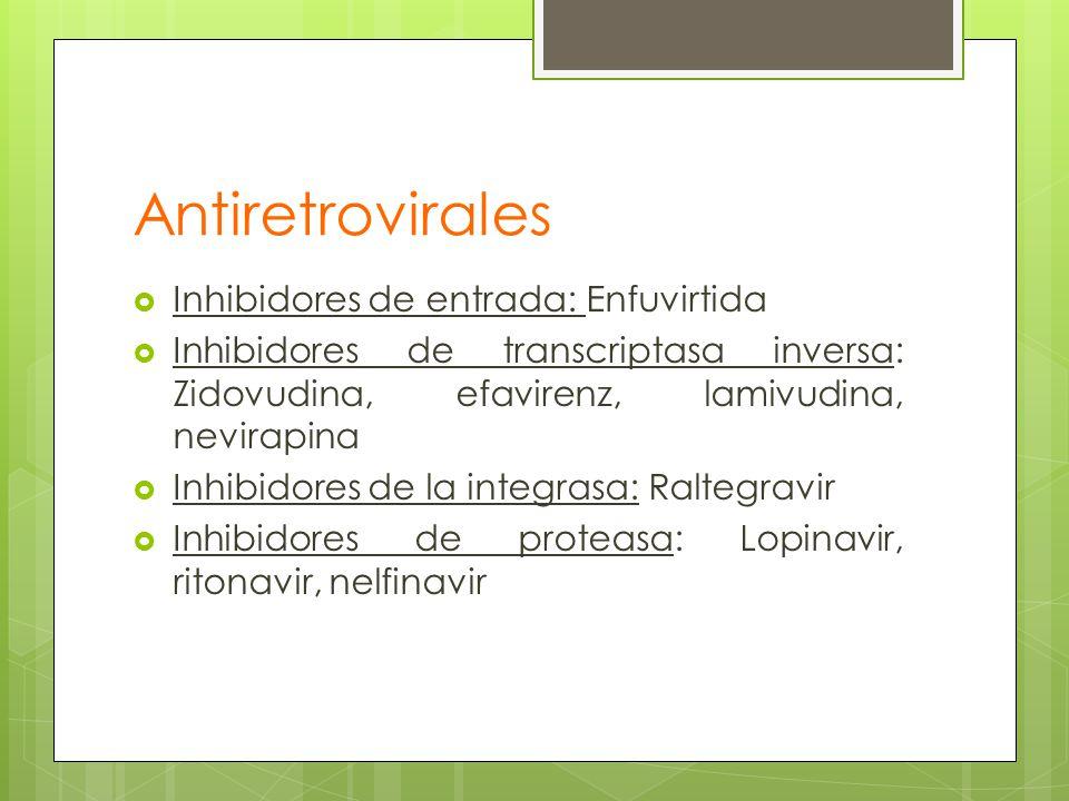 Antiretrovirales Inhibidores de entrada: Enfuvirtida