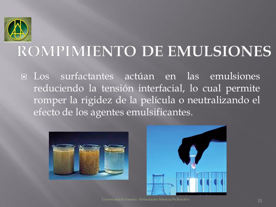 ROMPIMIENTO DE EMULSIONES