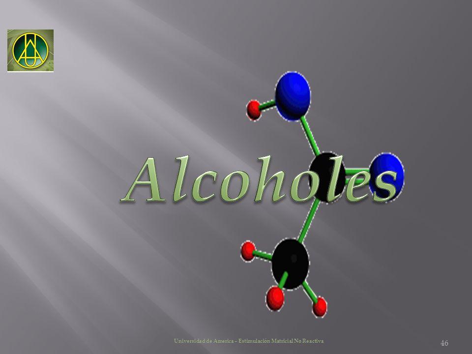 Alcoholes Universidad de America – Estimulación Matricial No Reactiva
