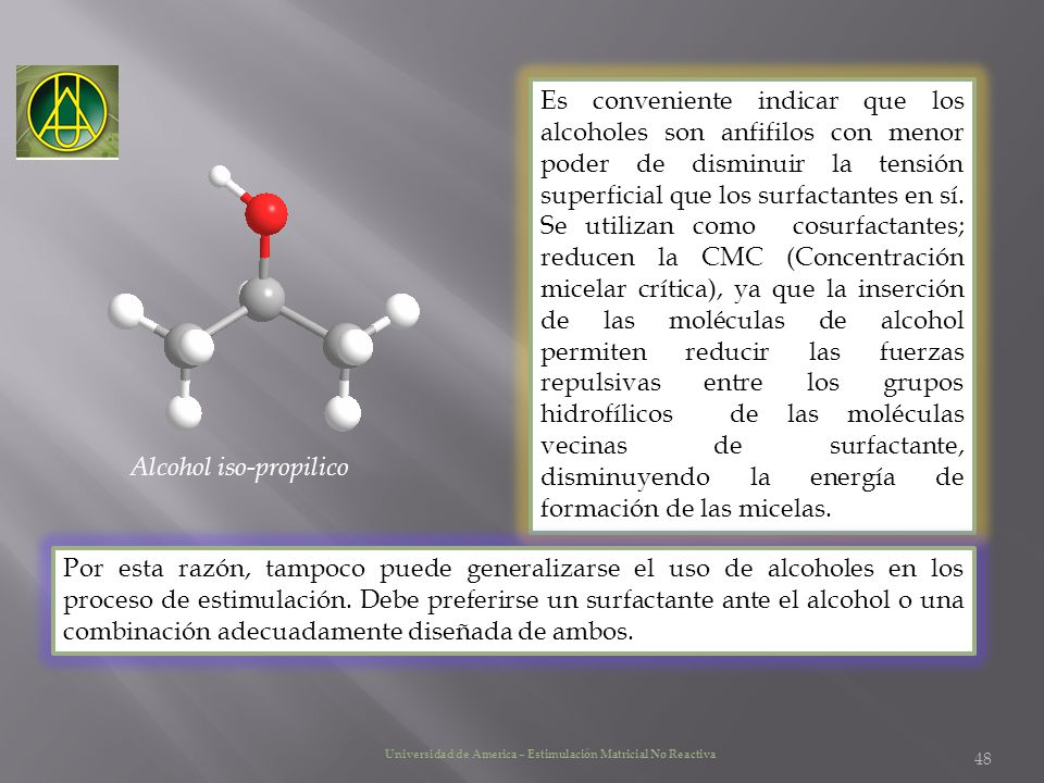 Alcohol iso-propilico