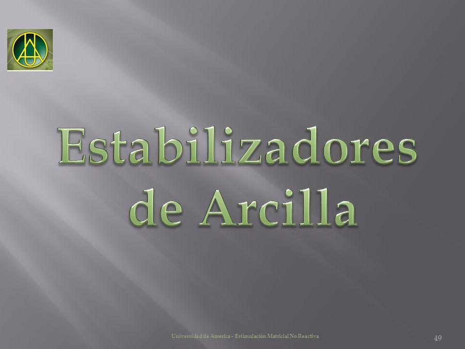 Estabilizadores de Arcilla
