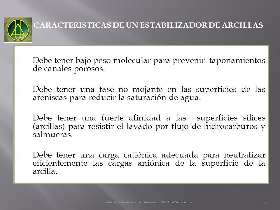 CARACTERISTICAS DE UN ESTABILIZADOR DE ARCILLAS