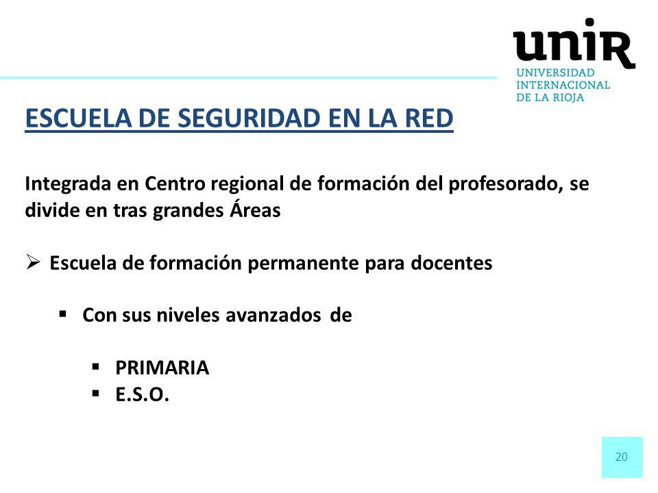 ESCUELA DE SEGURIDAD EN LA RED