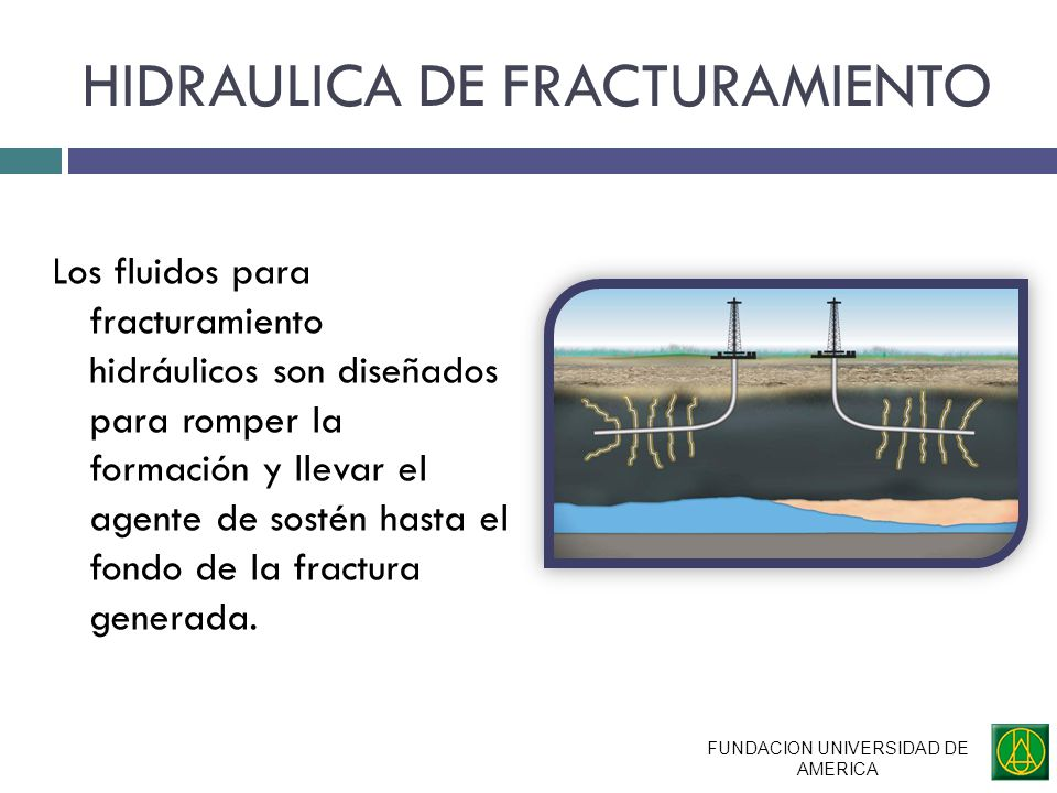 HIDRAULICA DE FRACTURAMIENTO