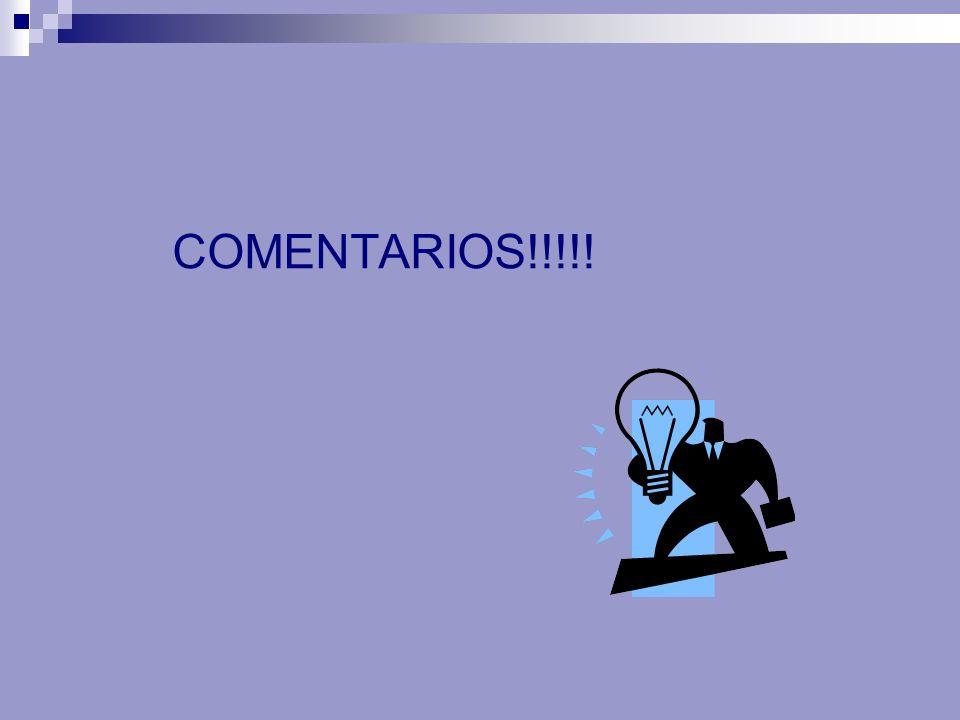 COMENTARIOS!!!!!