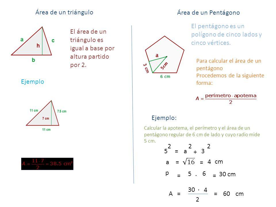 El pentágono es un polígono de cinco lados y cinco vértices.